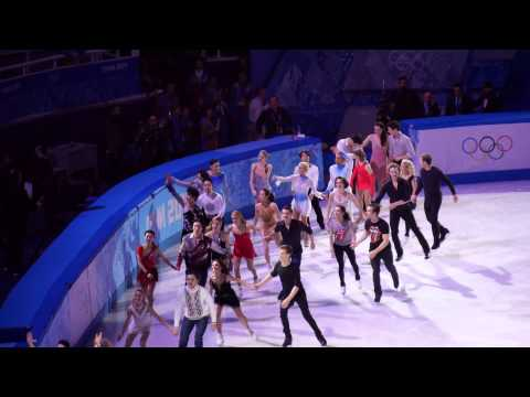 [Fan cam] Yuna Kim in Gala Exbition Finale in Sochi 2014 Winter Olympics