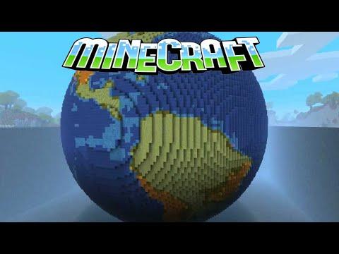 Обзор мода Minecraft [1.8.9]The Earth Mod Планета земля в майнкрафте