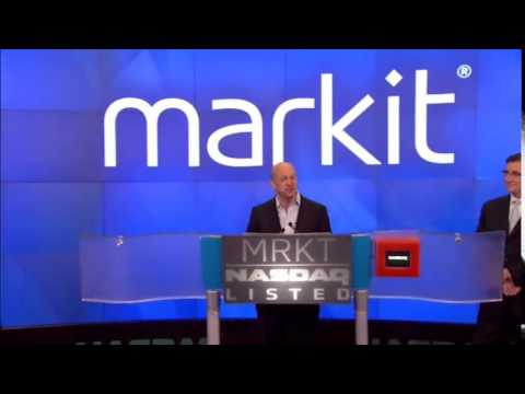 Markit opening bell ceremony at Nasdaq on June 19th 2014