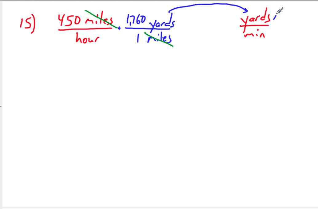 6th grade 5-4 Using Ratios to Convert Measurement Units ...