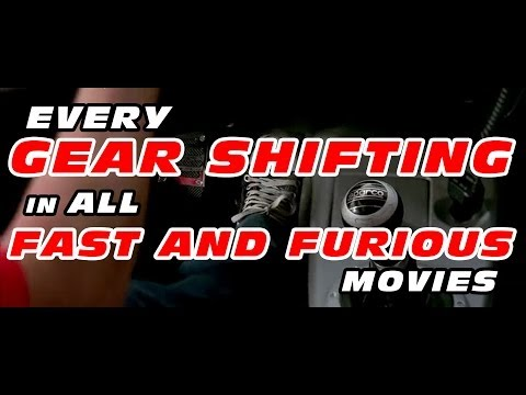 Fast & Furious Gear Shifting / From 1 to 6 - La Place du Milieu