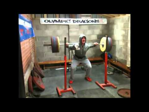 Shaun Clegg And Jake Helliwell - Heavy squats and DeadPulls. Image 1