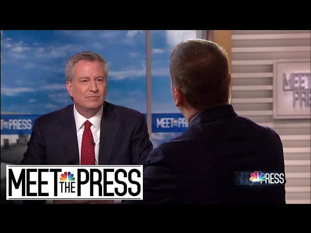 Full de Blasio вAmazon Just Took Their Ball And Went Homeв  Meet The Press  NBC News