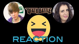 "SCREWATTACK REACTION VIDEO - ""Justin Bieber VS Rebecca Black"""
