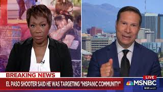 FORMER FBI AGENT FRANK FIGLIUZZI ON TRUMP & WHITE SUPREMACIST TERROR IN USA 8-4-19