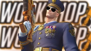 PROTECT THE PRESIDENT in the Overwatch Workshop Experience