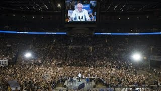 Bernie Sanders draws record crowd