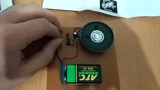Laser Sound and LED Flasher Using 555 Timer IC KARABUK ÜNİVERSİTESİ