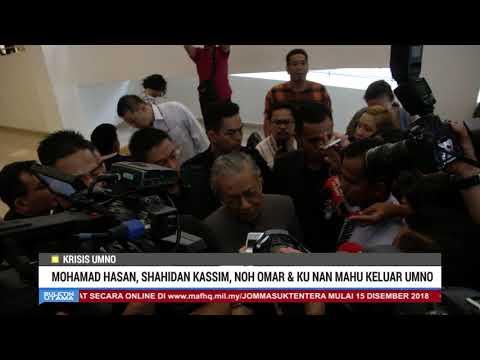 Tok Mat, Shahidan Kassim, Noh Omar & Ku Nan Mahu Keluar UMNO?