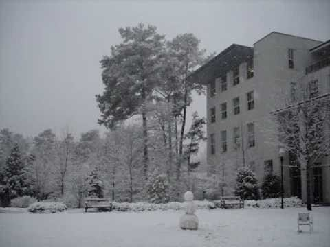 Atlanta, Georgia snowstorm 12 February 2010
