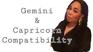 GEMINI and CAPRICORN COMPATIBILITY 💕