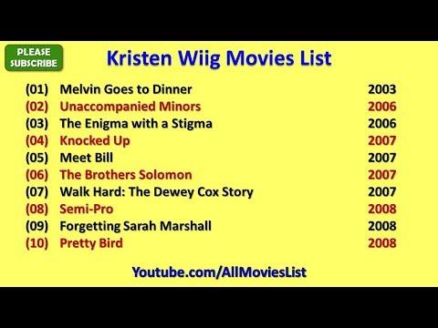 Kristen Wiig Movies List