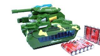 Đồ chơi xe Tăng biến hình robot transformer tank car toy