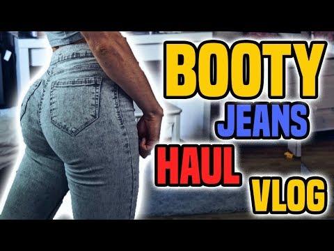 Fitness BOOTY Jeans Haul | TRAINING | Roomtour | dm + Aldi Einkauf thumbnail