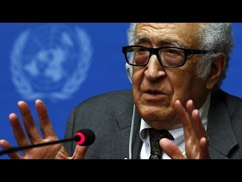 Brahimi optimistic despite slow progress at Geneva talks on Syria