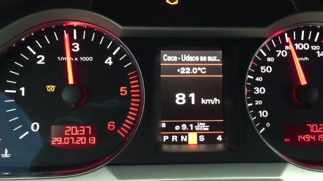 Audi A6 Druckluftschlauch Defekt Dpf Spirale Youtube