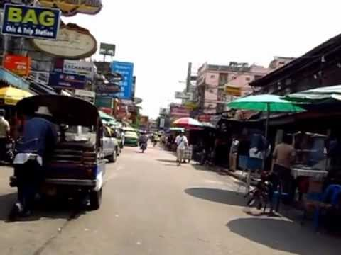 Where to Go in Bangkok Walk You from Phra Atit Pier to Khao San Road Bars Shops Hawker Street Food