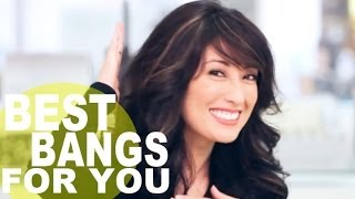 The Perfect Bangs For Your Face Shape | NewBeauty Tips and Tutorials