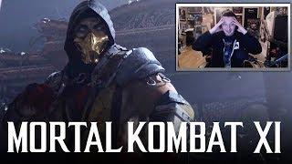 MORTAL KOMBAT 11 - Reveal Trailer REACTION! (Mortal Kombat XI)