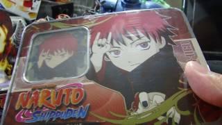 Naruto Cards | Sasori Chibi Tin Dangerous Artists Series 8 Tin Ultimate Battles