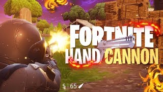 HAND CANNON GAMEPLAY (IT'S GODLY) - Fortnite: Battle Royale