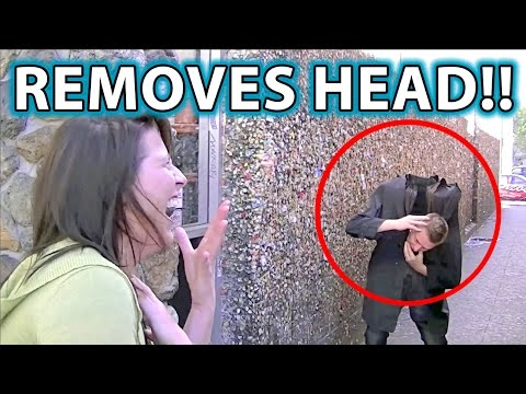Craziest Scare/Prank Trick Ever! Magician Sneezes Head Off! Music Videos