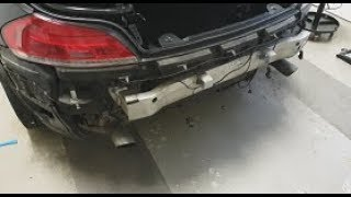 How to remove an BMW e89 rear bumper (and replacing it with an M one)