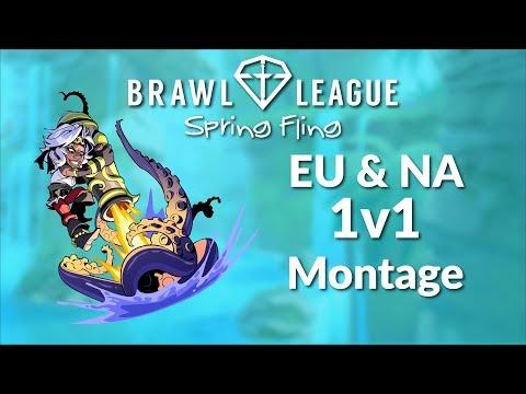 Brawlhalla Tournament Montage - Brawl League Spring Fling 1v1