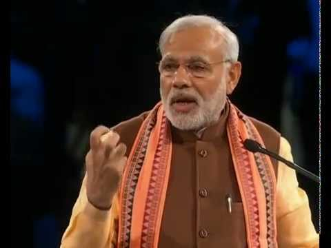 PM Narendra Modi  addresses Indian Diaspora in Toronto Canada