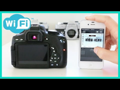 Canon T6i/T6s Remote Control Shooting Features with Wifi