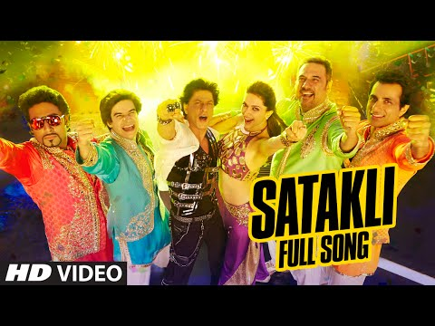 OFFICIAL: Satakli FULL VIDEO Song | Happy New Year | Shah Rukh...