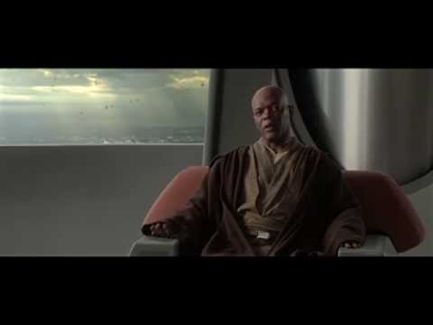 Anakin Pulls a Jedi Mind Trick on Mace Windu