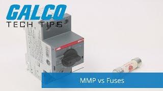 Manual Motor Protectors vs Fuses - A Galco TV Tech Tip