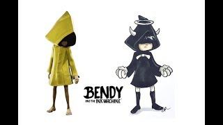 Little Nightmares as BENDY AND THE INK MACHINE