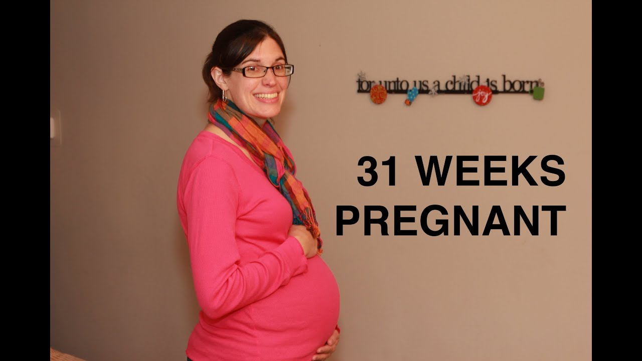 31 weeks pregnant - BELLY MOVEMENTS!