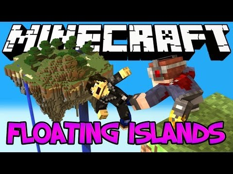 Minecraft Mod Showcase : Floating Islands Mod (Metaworlds)