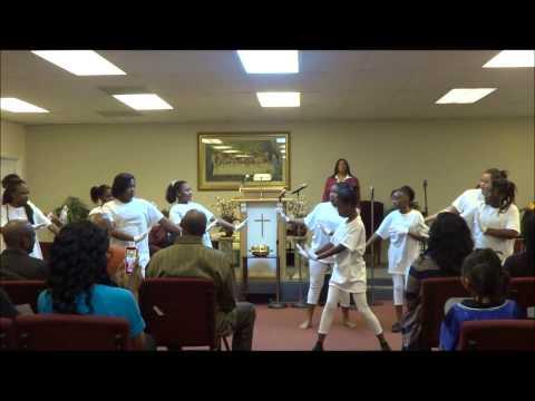 Kirk Franklin- Riverside Mime Dance