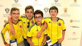Colombian team IOI 2016 in Kazan Russia