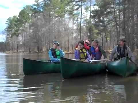 Canoe Hike at Jordan Lake NC