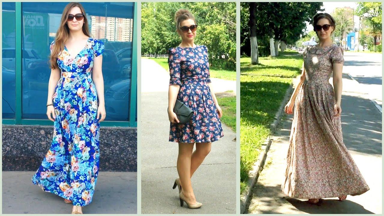 Купить Платье Летнее В Пол