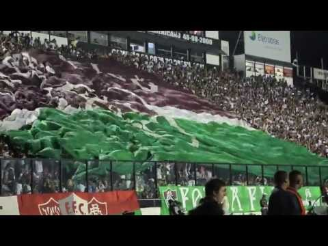 Fluminense x Emelec - Entrada (Libertadores 2013)