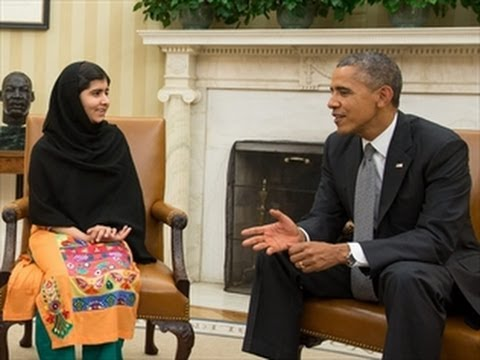 Malala Tells Obama The Truth Obama Drone Strikes