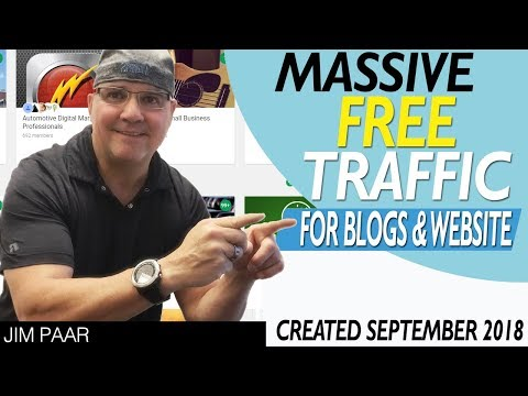 How To Create RIDICULOUS Free Traffic for Your Blog, Website, Adsense and More
