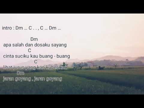 Lirik Dan Kunci Gitar Jaran Goyang - Via Vallen