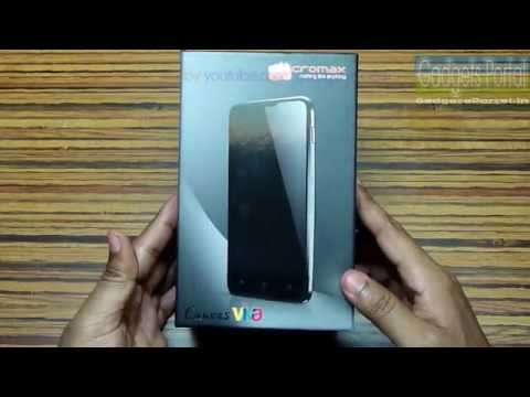 Micromax A72 Canvas VIVA Unboxing & Hands on Review