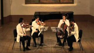 Shanghai Quartet, Ravel String Quartet in F Major, Movt. 1