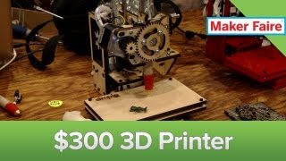 Awesome $300 3D Printer from PrintRBot Maker Faire 2013