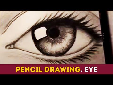 Фото глаза что бы рисовать