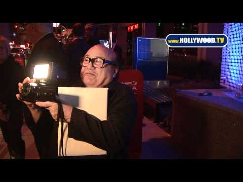 Danny DeVito Tries to Fool Paparazzi, Fails