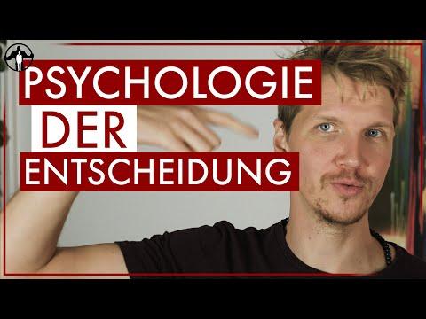 Die Psychologie hinter der Entscheidung | Männlichkeit stärken
